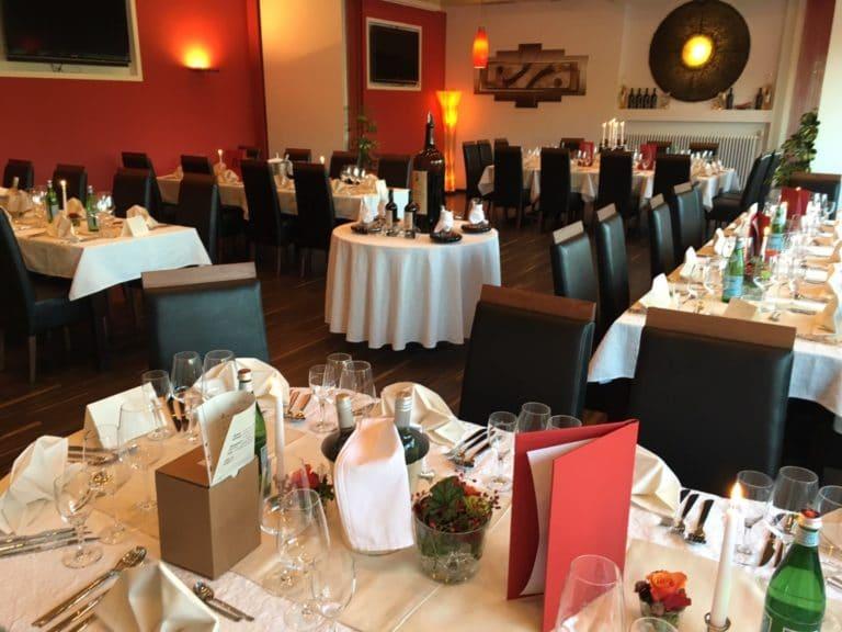 Edles Restaurant für Hochzeitsfeiern in Tübingen